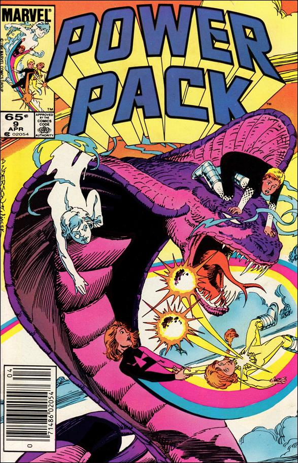 Power Pack (1984) 9-A by Marvel