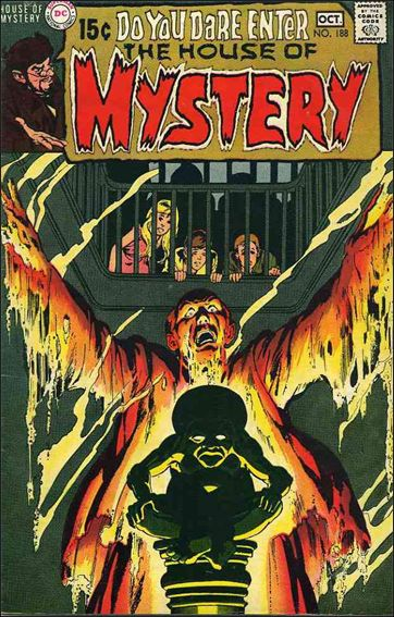 House of Mystery (1951) 188-A by DC