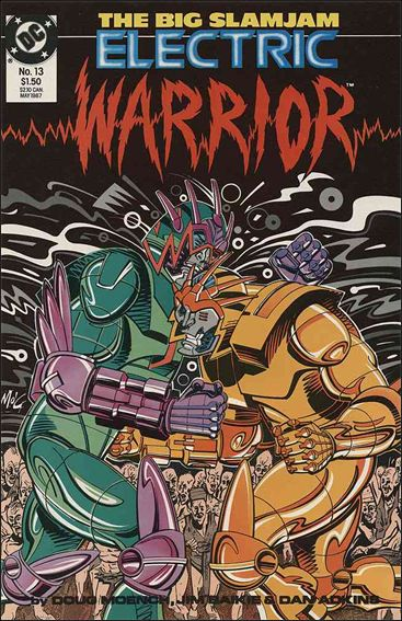 Electric Warrior 13-A by DC