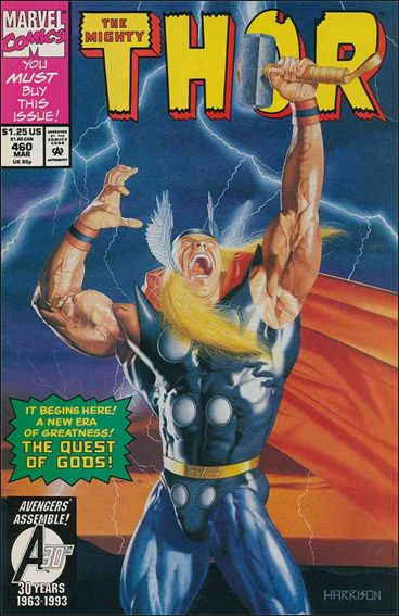 Thor (1966) 460-A by Marvel