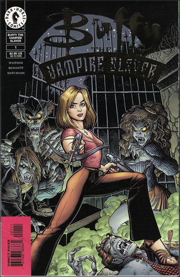 Buffy the Vampire Slayer 1-C by Dark Horse