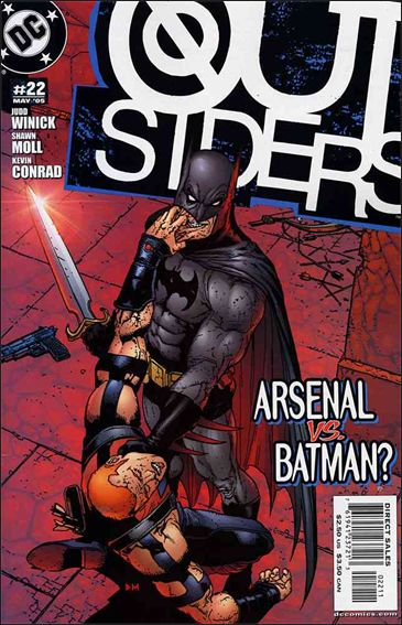 Outsiders (2003) 22-A by DC