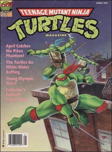 Teenage Mutant Ninja Turtles Magazine 7-A by Welsh Publishing Group