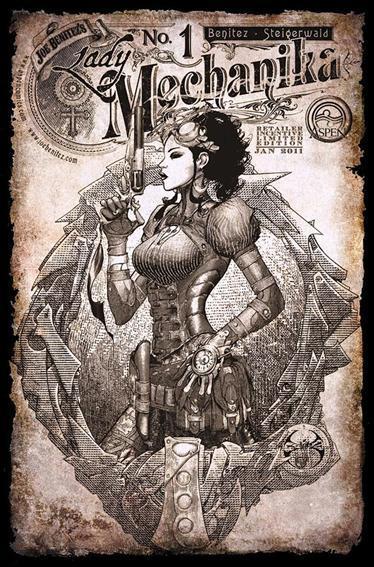 Lady Mechanika 1-C by Aspen