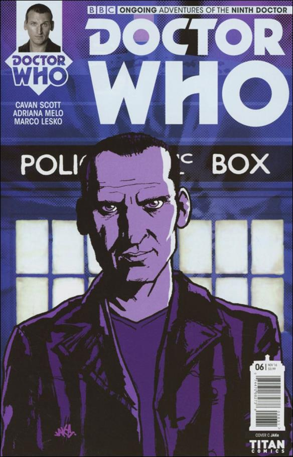 Doctor Who: The Ninth Doctor (2016) 6-C by Titan