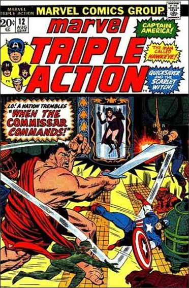 Marvel Triple Action (1972) 12-A by Marvel