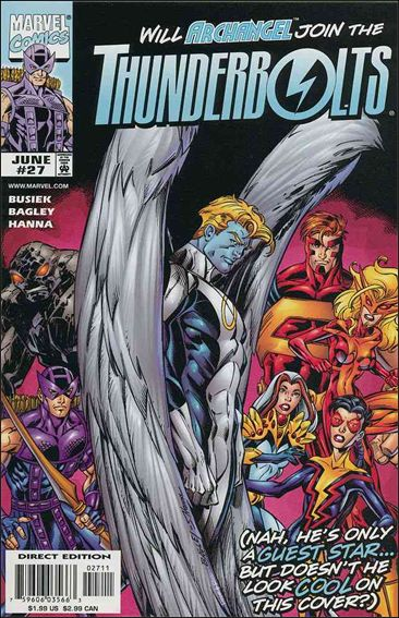 Thunderbolts (1997) 27-A by Marvel