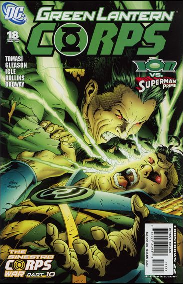 Green Lantern Corps (2006) 18-A by DC