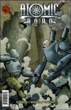Atomic Robo 5-A