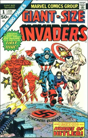 Giant-Size Invaders 1-A by Marvel