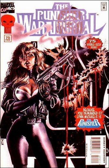Punisher War Journal (1988) 75-A by Marvel
