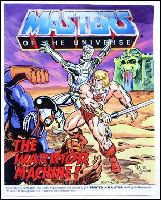 Masters of the Universe (1983) 5.7-B by Mattel