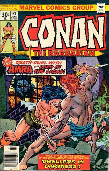 Conan the Barbarian (1970) 63-B by Marvel