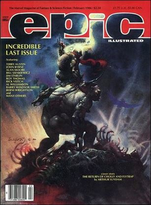 Epic Illustrated 34-A