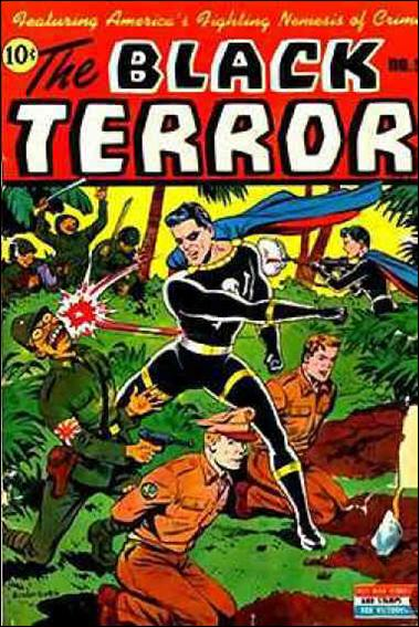 Black Terror (1942) 9-A by Nedor