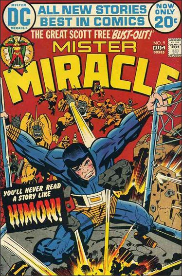 Mister Miracle (1971) 9-A by DC