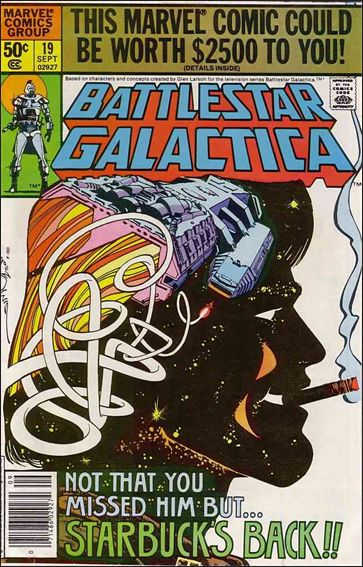 Battlestar Galactica (1979) 19-A by Marvel