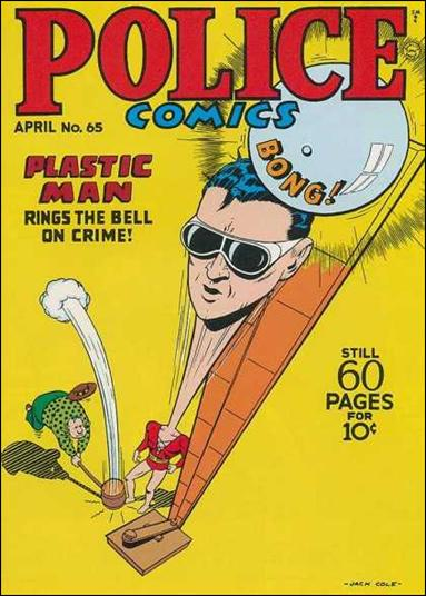 Police Comics 65-A by Comic Magazines