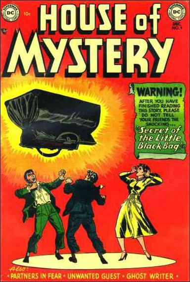 House of Mystery (1951) 9-A by DC