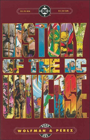 History of the DC Universe 1-A by DC