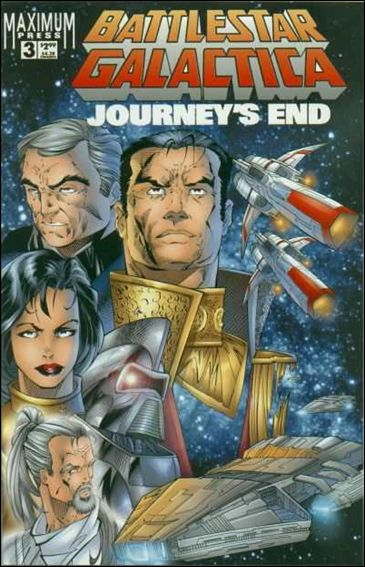 Battlestar Galactica: Journey's End 3-A by Maximum Press