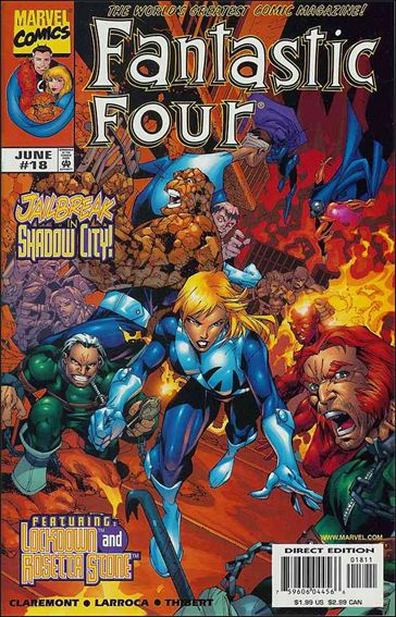 Fantastic Four (1998) 18-A by Marvel