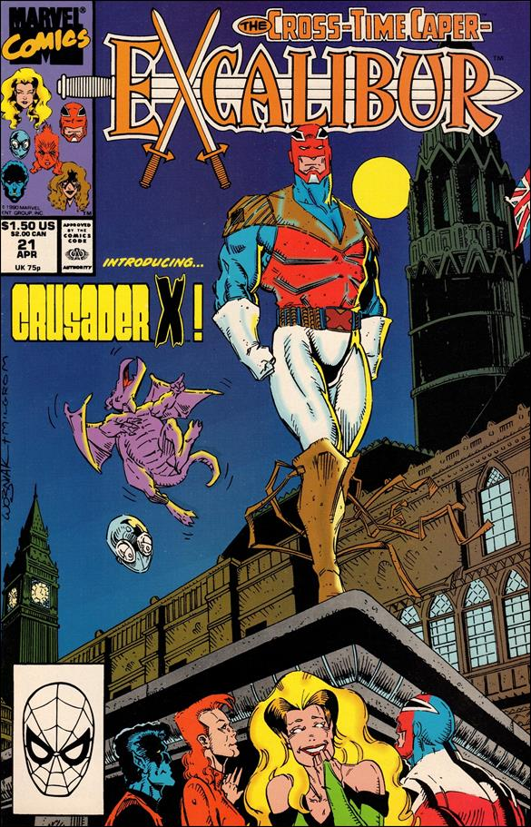 Excalibur (1988) 21-A by Marvel