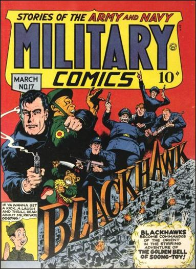 Military Comics 17-A by Comic Magazines