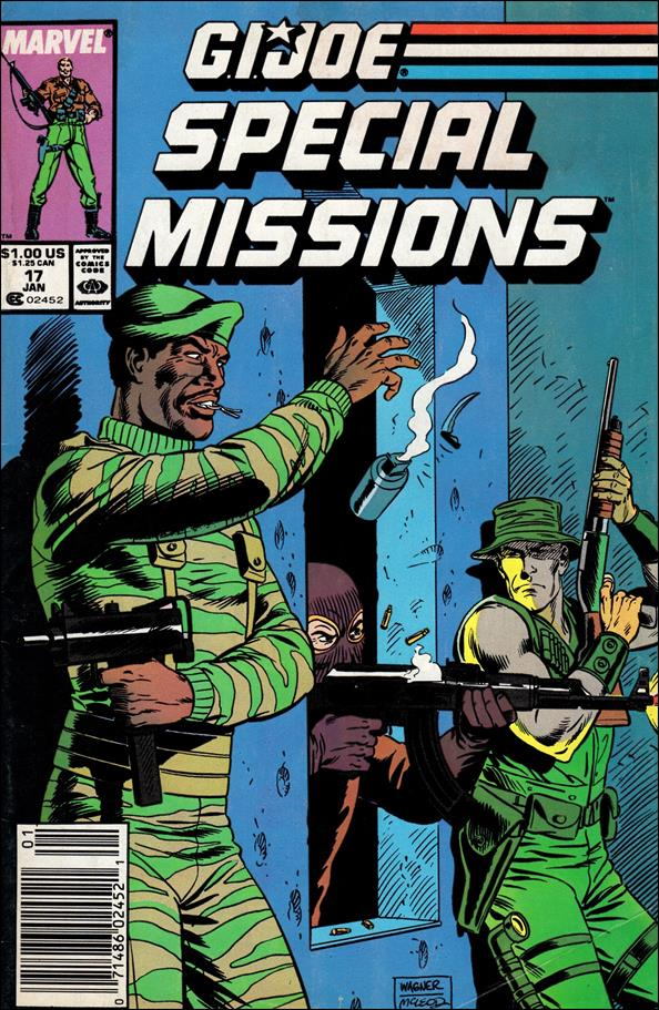 G.I. Joe: Special Missions (1986) 17-A by Marvel