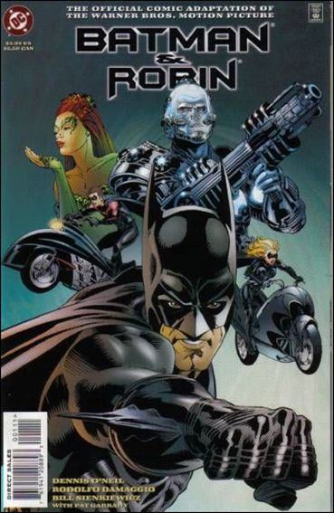 Batman and Robin: The Official Comic Adaptation of the Warner Bros. Motion Picture 1-A by DC