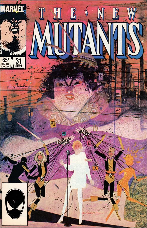 New Mutants (1983) 31-A by Marvel