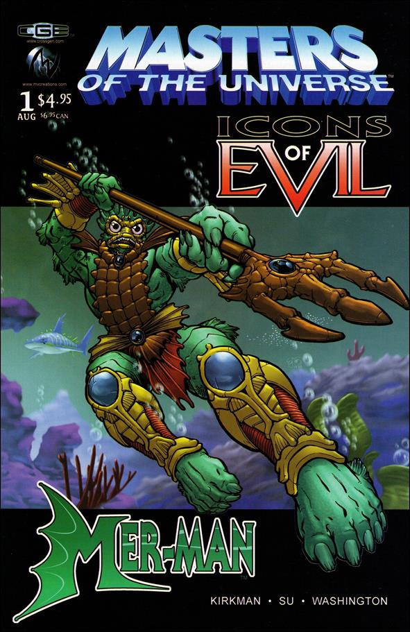 Masters of the Universe Icons of Evil: Mer-Man 1-A by CrossGen