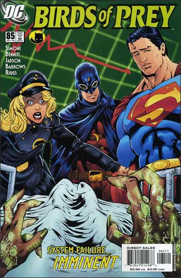 Birds of Prey (1999) 85-A by DC