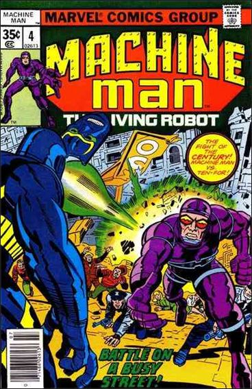 Machine Man (1978) 4-A by Marvel