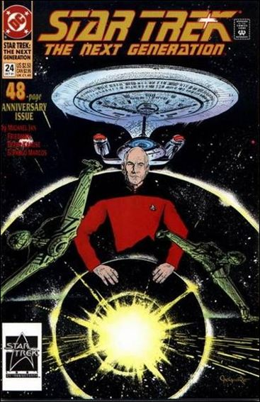 Star Trek: The Next Generation (1989) 24-A by DC