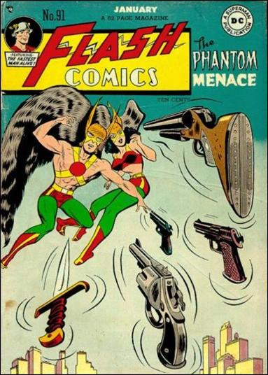 Flash Comics (1939) 91-A by DC