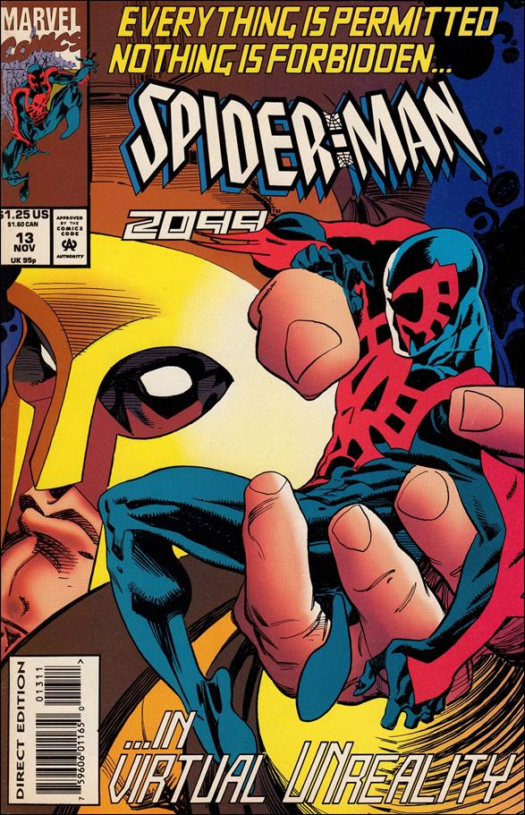 Spider-Man 2099 (1992) 13-A by Marvel