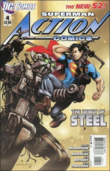 Action Comics (2011) 4-A by DC