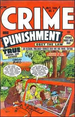 Crime and Punishment 4-A by Lev Gleason Productions