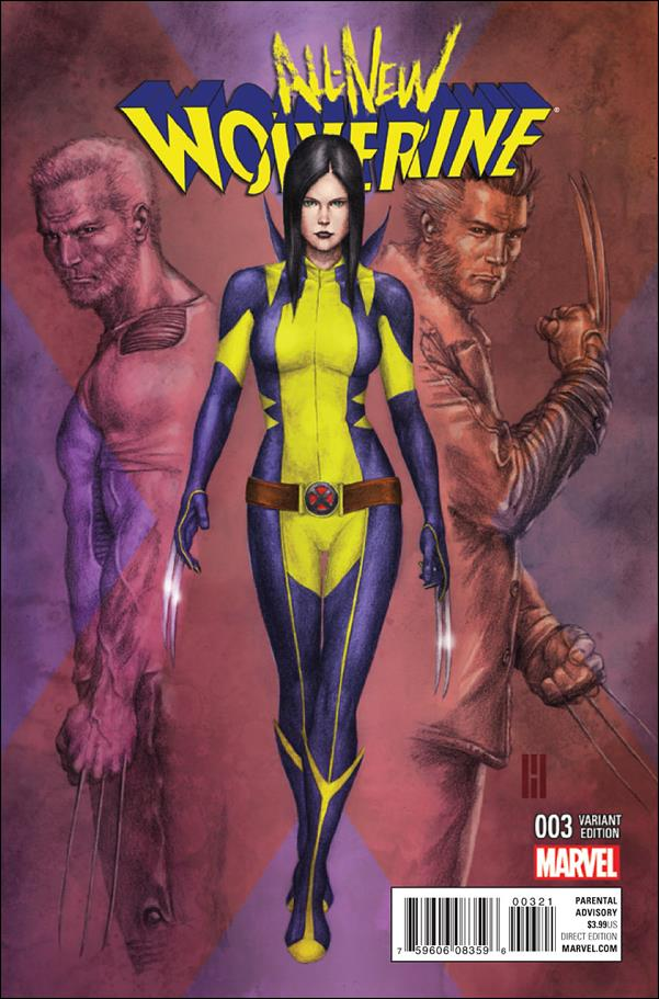 All-New Wolverine  3-C by Marvel