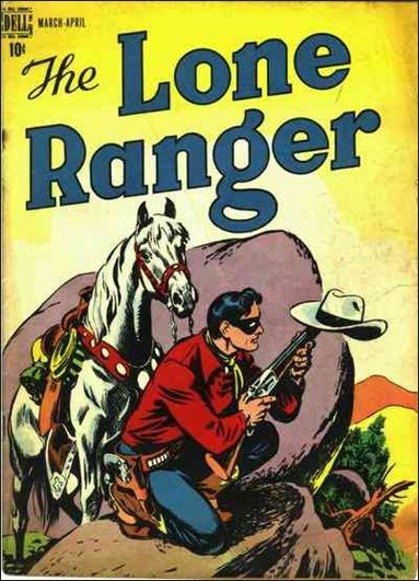 Lone Ranger (1948) 2-A by Dell