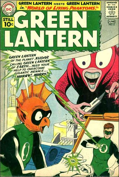 Green Lantern (1960) 6-A by DC
