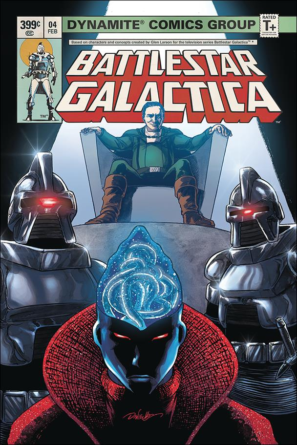 Battlestar Galactica (Classic) (2018) 4-B by Dynamite Entertainment