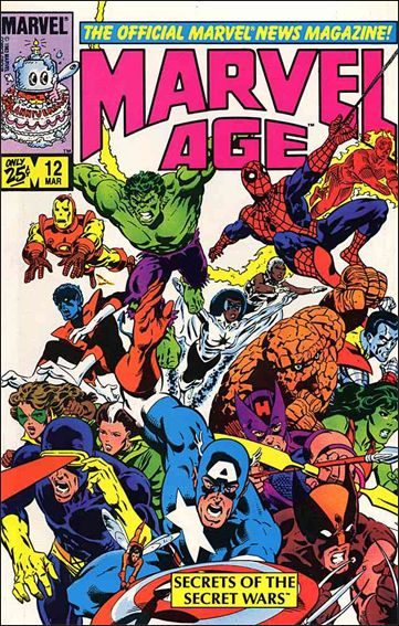 Marvel Age 12-A by Marvel