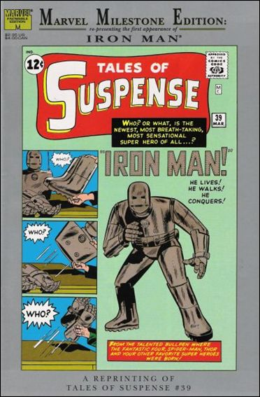 Marvel Milestone Edition: Tales of Suspense 39-A by Marvel