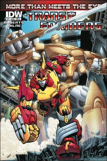 Transformers: More Than Meets the Eye (2012) 17-B by IDW