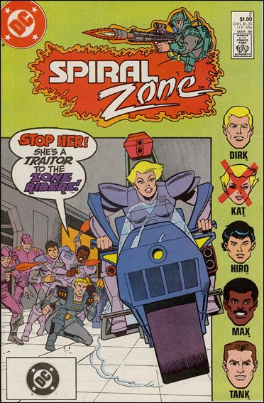 Spiral Zone 2-A by DC