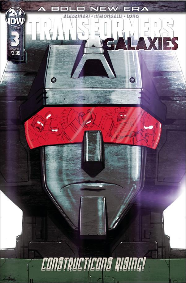 Transformers: Galaxies 3-A by IDW
