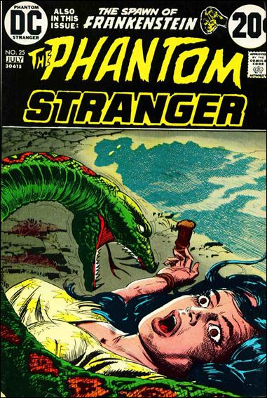 Phantom Stranger (1969) 25-A by DC