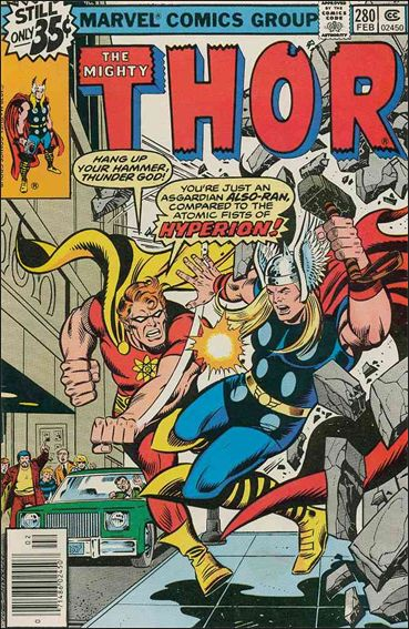 Thor (1966) 280-A by Marvel